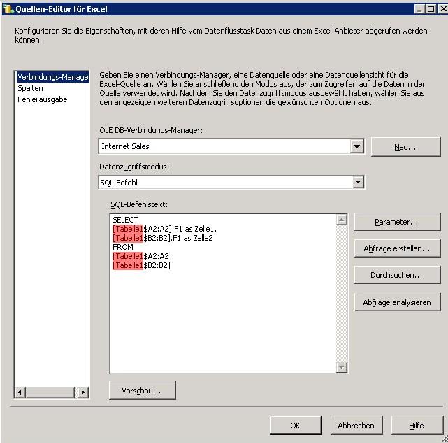 Dynamische Excel Abfragen mit wechselnden Zellbezügen | ixto GmbH